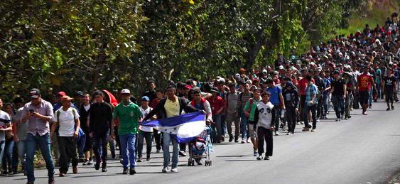 México ofrece 4.000 empleos en la frontera sur a migrantes de nueva caravana