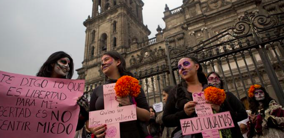 México busca frenar violencia machista ante alza de feminicidios y denuncias