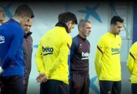 Barça guarda un minuto de silencio por Kobe Bryant en los entrenamiento