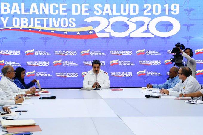 Maduro anuncia ejercicios militares para la primera quincena de febrero