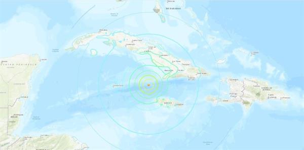 Fuerte sismo se siente en toda Cuba