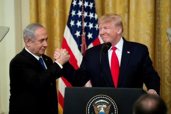 Trump propone dar a Israel parte de Cisjordania y Jerusalén en su plan de paz