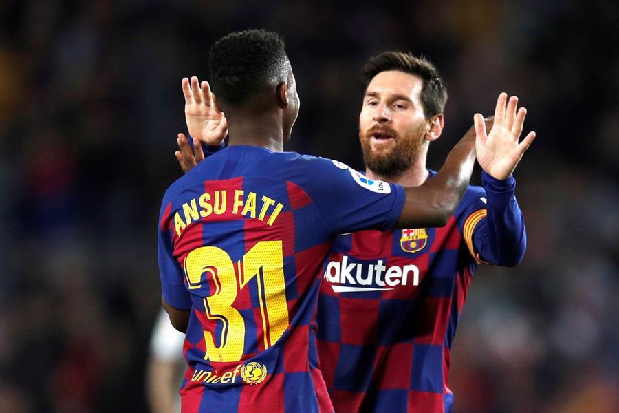 Ansu Fati demuestra que puede ocupar el puesto de Suárez