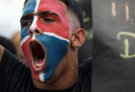 """Protesta en República Dominicana gritan: """"No queremos otra Venezuela"""""""