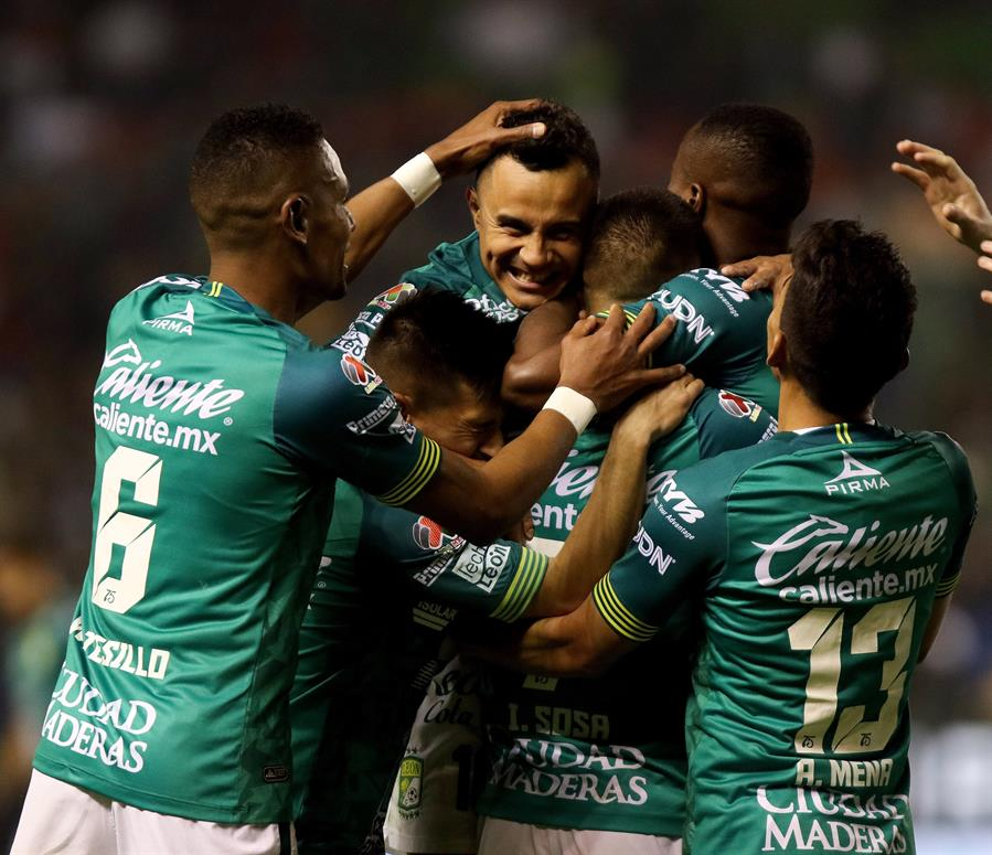 El León confirma su liderato en el Clausura después de cinco jornadas