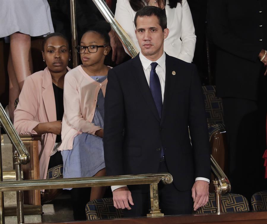 Trump y Congreso ofrecieron sus respeto a Juan Guaidó