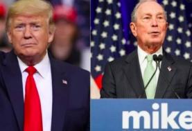 """Trump acusa a Bloomberg de """"amañar"""" las primarias en contra de Bernie Sanders"""