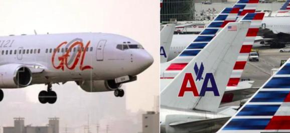 Gol y AA tendrán la mayor oferta del mercado aéreo entre EEUU y Suramérica