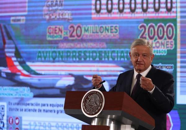 López Obrador hará un sorteo especial en nombre del avión presidencial