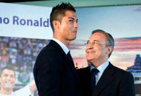 "Florentino Pérez a Ronaldo: ""Felicidades al mejor jugador del mundo"""