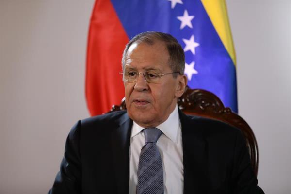 Canciller ruso llega a Venezuela