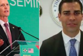 Senador de EEUU y alcalde de Miami se aislan tras ver al vocero de Bolsonaro