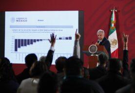 """López Obrador dice que el peso mexicano """"resistió"""" al lunes negro"""