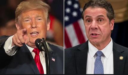 Trump y Cuomo mantienen una pugna por la respuesta al coronavirus