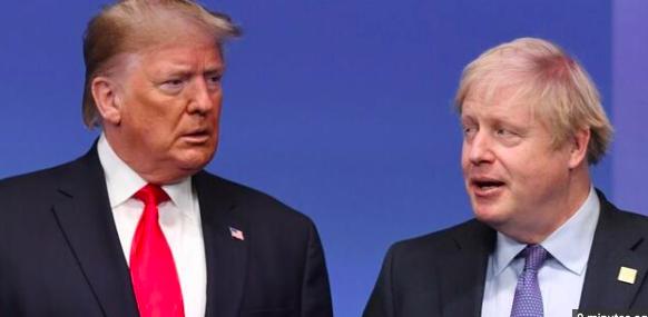 """Johnson y Trump creen necesaria una """"respuesta internacional"""" a la COVID-19"""