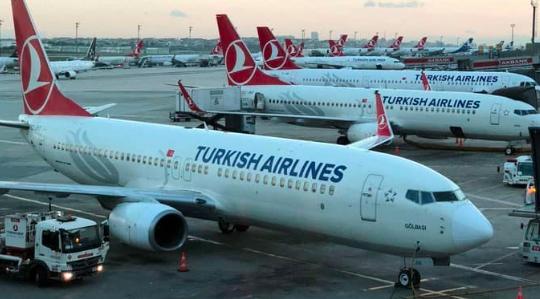 Turkish Airlines suspende todos los vuelos hasta el 28 de mayo