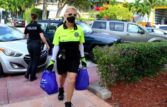 Baja el ritmo de casos de COVID-19 en Florida