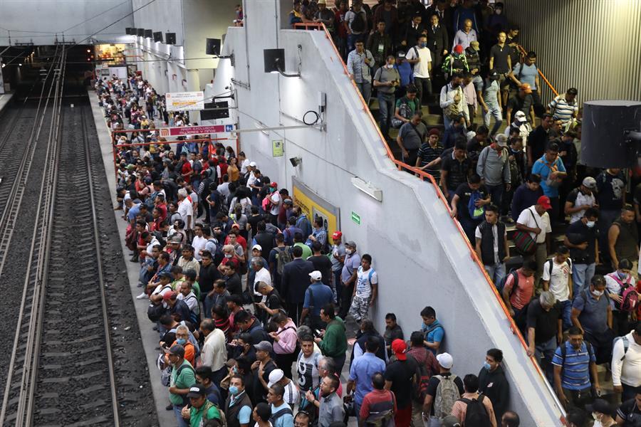 Cubrebocas será obligatorio en el metro de Ciudad de México