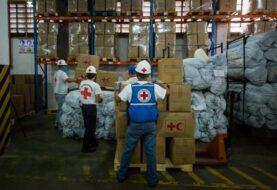 Cruz Roja entrega 46 toneladas de ayuda a Venezuela para frenar el COVID-19