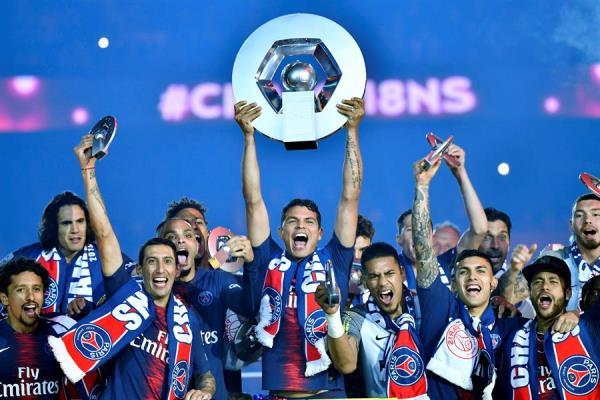 Ligue 1 francesa proclamará campeón al PSG y confirma el fin de la temporada