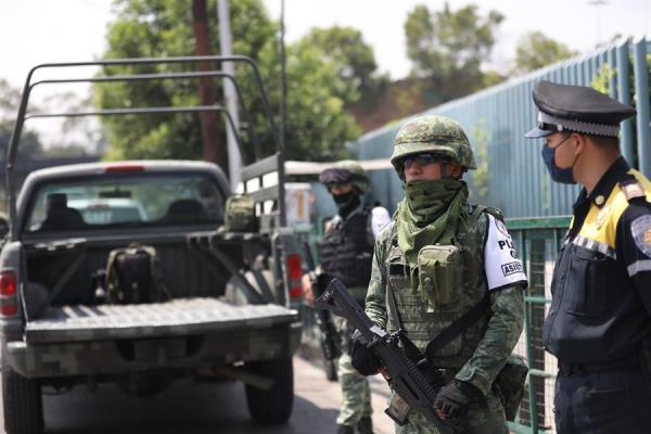 Expertos advierten falta de recursos en seguridad ante la pandemia en México