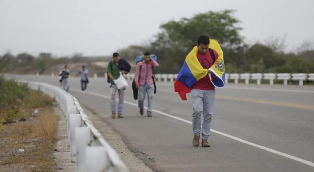 COVID y bajas temperaturas agravan crisis de venezolanos en Suramérica