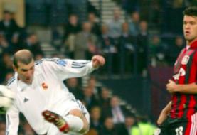 El gol de volea de Zidane al Bayer, elegido el más bello de la Liga Campeones