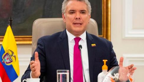 Duque responde a las acusaciones de Maduro y dice que no auspicia invasiones