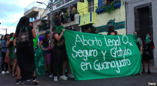 Rechazan despenalizar el aborto en el estado mexicano de Guanajuato