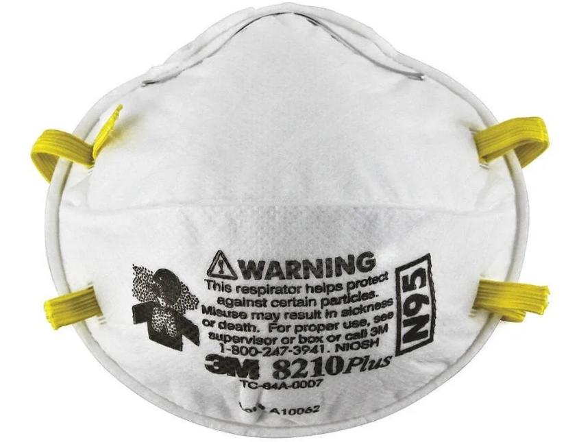 Empleado público en EEUU enfrenta cargos tras supuesto robo de máscaras N95