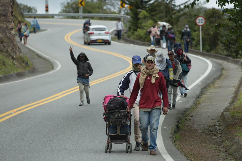 La UE anuncia una ayuda de 144 millones de euros a migrantes venezolanos