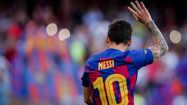 """Messi admite que """"este parón"""" puede acabar """"beneficiando"""" al Barça"""