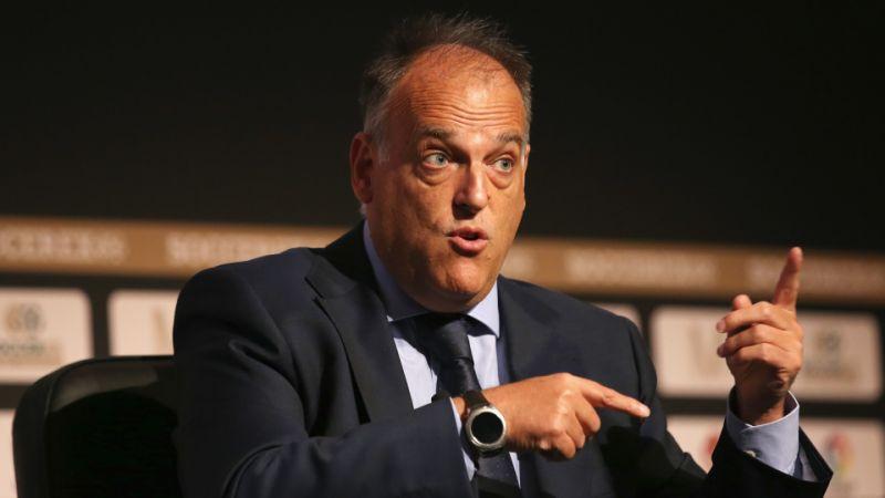 """Presidente de LaLiga: """"Me gustaría empezar el 12 de junio"""""""
