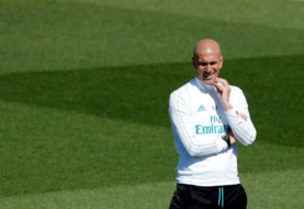 Real Madrid aumentó la carga de trabajo en entrenamiento