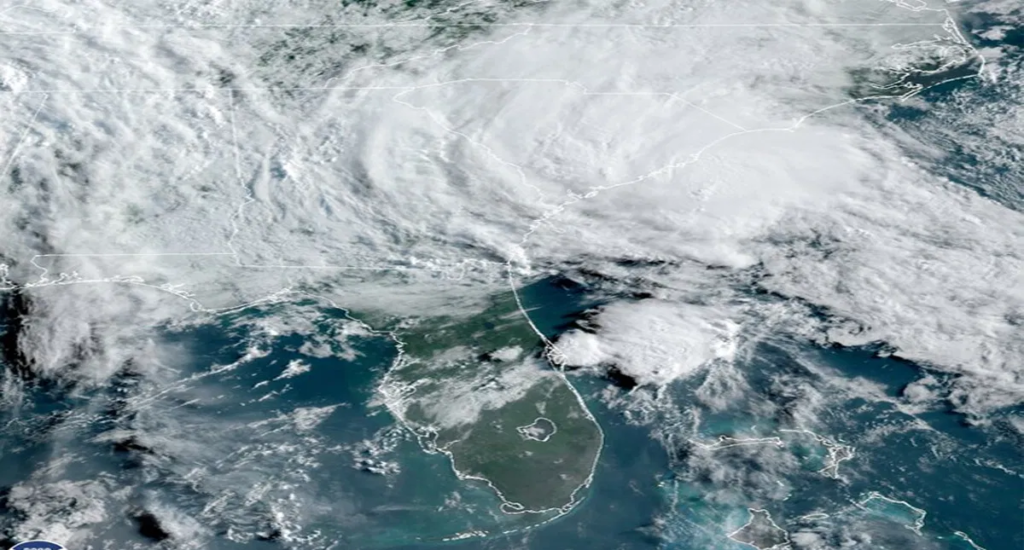 Tormenta tropical Bertha se aproxima a Carolina