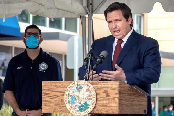Florida aumenta en 1.204 los casos de COVID-19 en un día y en 48 las muertes