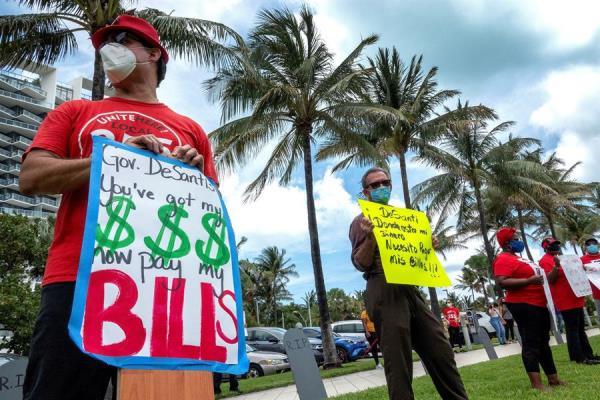 Florida se acerca a los 50.000 casos en el adelanto del Memorial Day