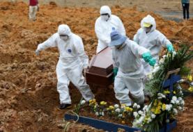 Brasil registra récord de 1.262 muertes en un sólo día