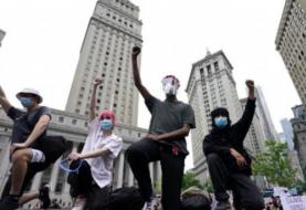 Nuevas protestas en Nueva York tras saqueos nocturnos y pese a toque de queda