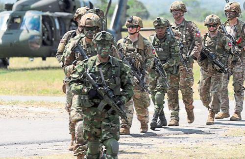 Tribunal colombiano pide explicaciones a Duque sobre misión militar de EE.UU.