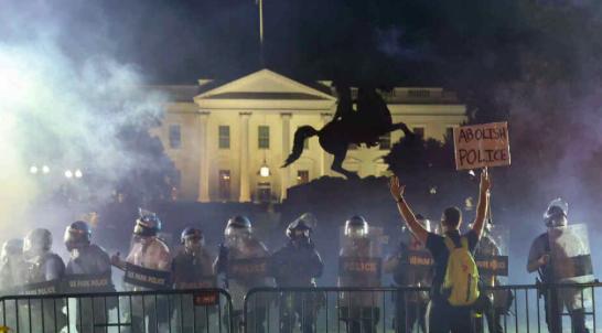 Cámara Baja exige a Trump identidad de fuerzas alrededor de la Casa Blanca