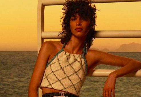 Chanel navega en el Mediterráneo para presentar su primer desfile virtual