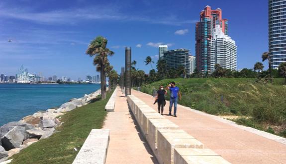 Miami Beach comienza a recibir los primeros turistas tras el confinamiento