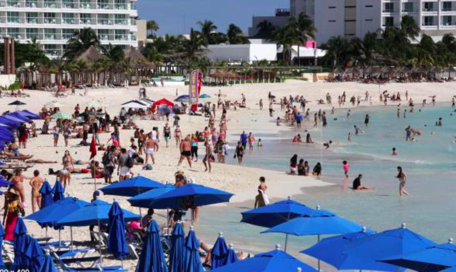 Turismo internacional de México cayó 78,5 % en el mes de abril con respecto al 2019