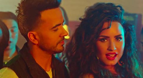 """""""Échame la culpa"""" de Fonsi y Demi Lovato enciende las redes"""