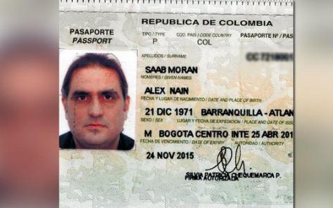 Fiscalía colombiana llama a juicio a Álex Saab por lavado de activos