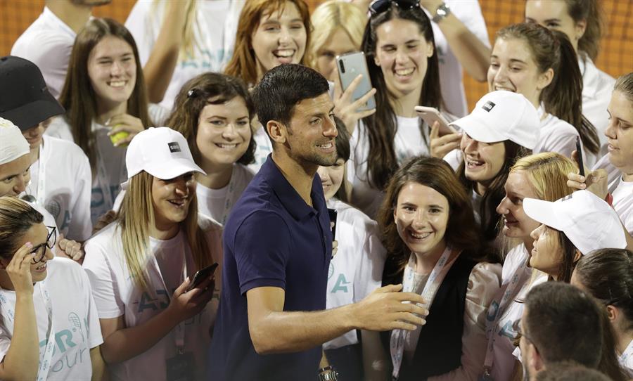 """Djokovic, """"contento"""" con que el US Open salga adelante"""