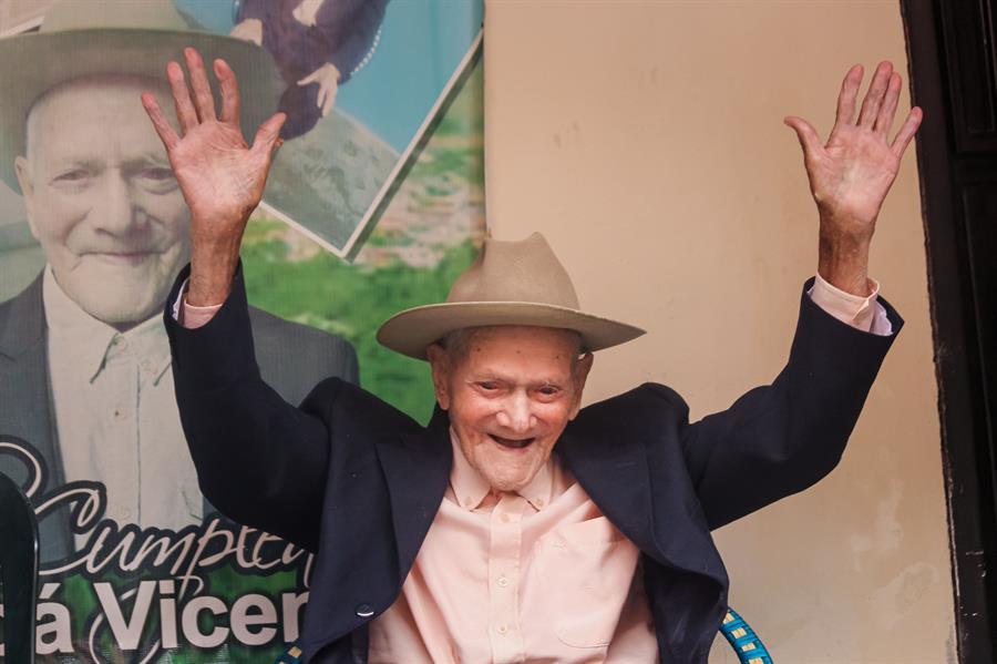 Juan Vicente, el venezolano más viejo con 111 años