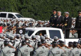 López Obrador defiende militarización en aniversario de la Guardia Nacional