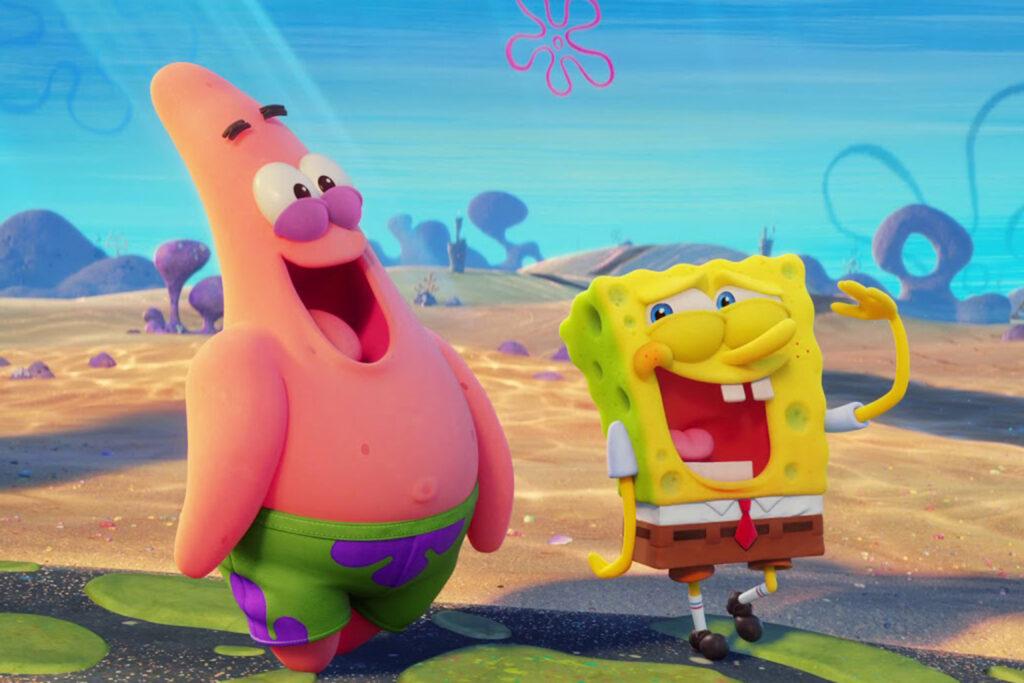 """La película de """"SpongeBob"""" no se estrenará en cines"""